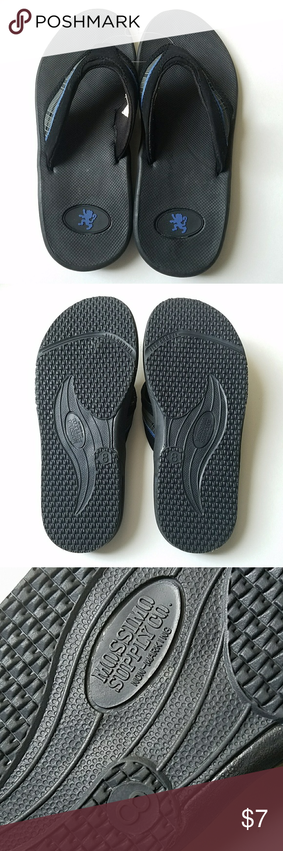 0c6690bc22ae NWOT Mossimo flip flops New Mossimo size 8 men s flip flops Mossimo Supply  Co. Shoes Sandals   Flip-Flops