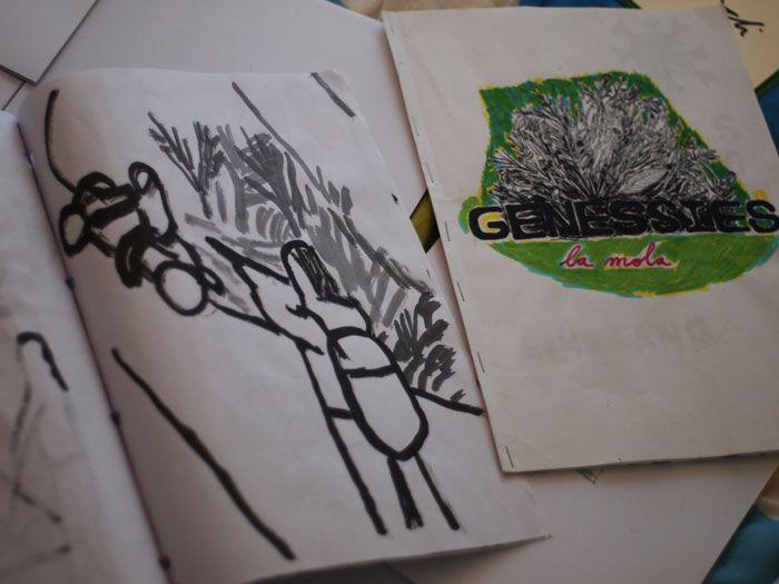 #FILM #CC #MOVIE - Elaborando las recompensas para los mecenas de GENESSIES by ARCADI BALLESTER.  Genessies: Historia de un naufragio voluntario. Historia de la búsqueda de un origen demasiado lejano. Historia de una despedida obligatoria, de un exilio y una montaña mágica. Historia de un viaje dentro de un viaje, de una mirada hacia adentro.  +INFO: www.arcadiballester.blogspot.com.es  CAMPAÑA verkami www.verkami.com/projects/1403