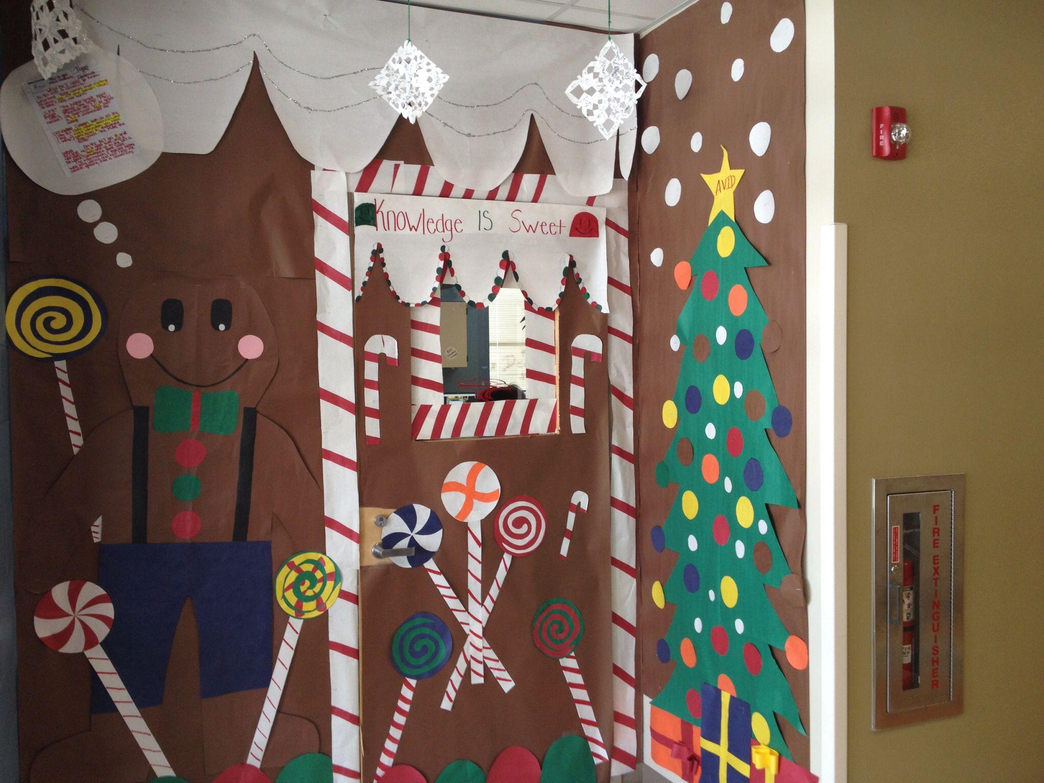 winter door decorating contest. Holiday Door Decorating Contest Promoting College Readiness. Winter L