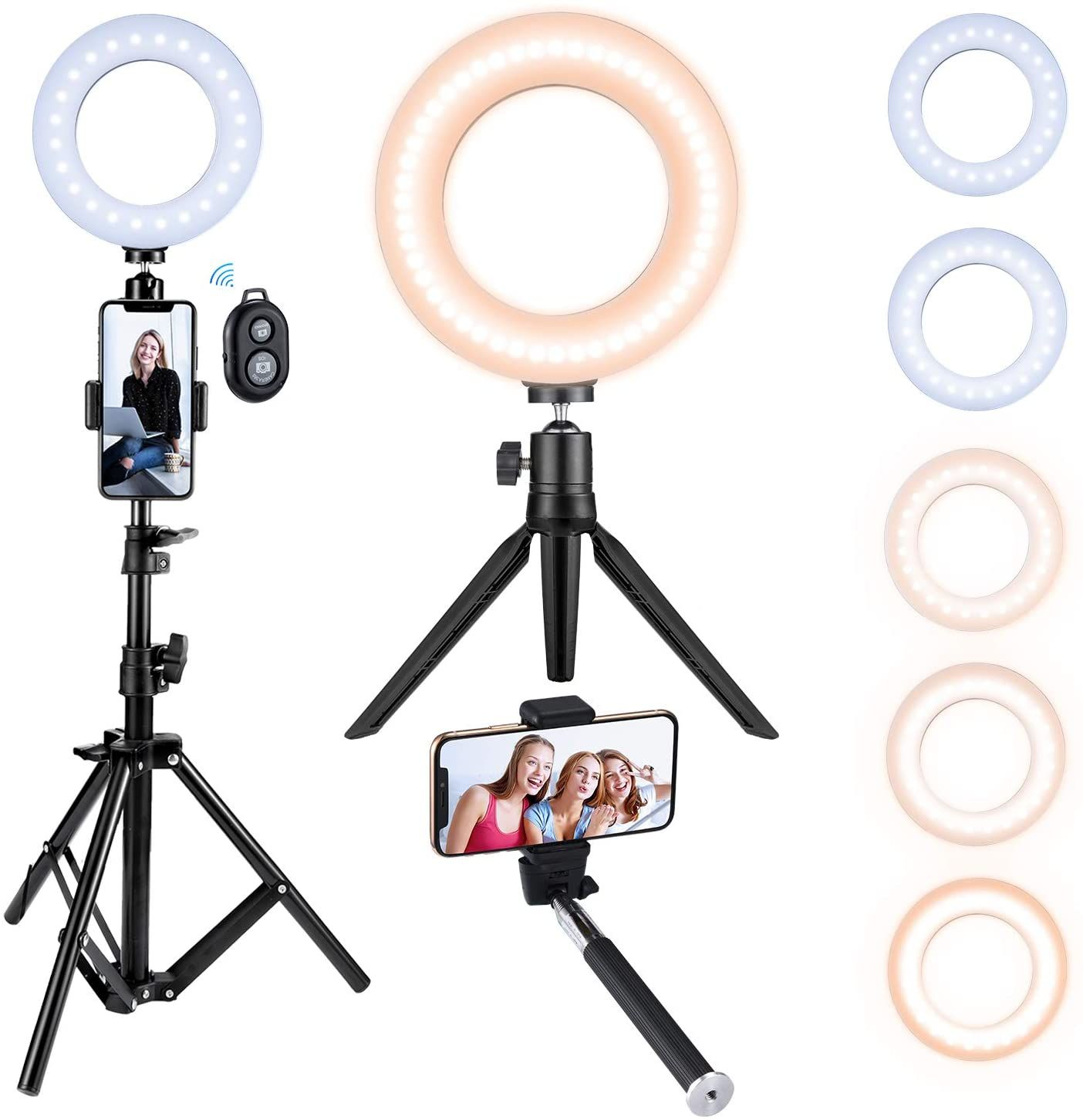 How To Grow Tiktok Account Selfie Light Selfie Ring Light Video Lighting