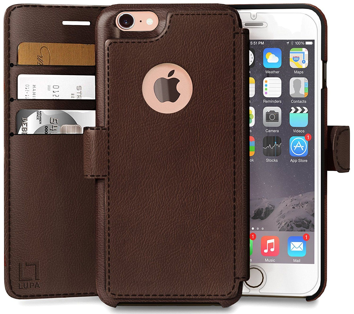 info for 478ab eb13c iPhone 8 Wallet Case, Durable and Slim, Lightweight with Classic ...