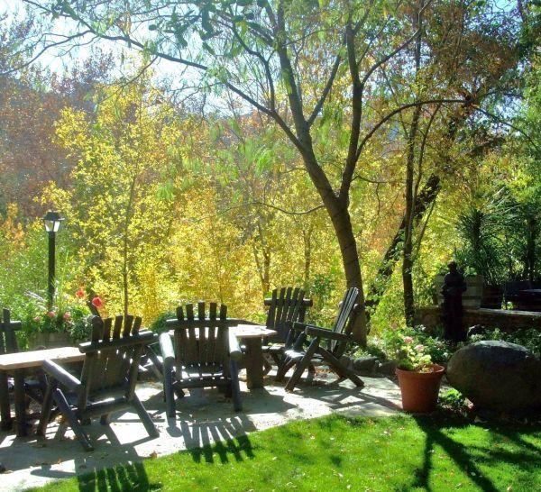 Briar Patch Inn Sedona Oak Creek creekside cabins; quiet