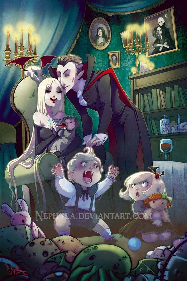 Vampire Family Vampire Art Horror Art Vampires Werewolves