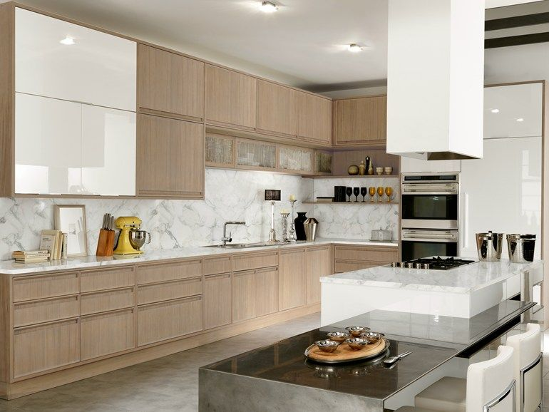 lacquered kitchen with island with integrated handles timeline timeline collection by aster on kitchen remodel timeline id=45565