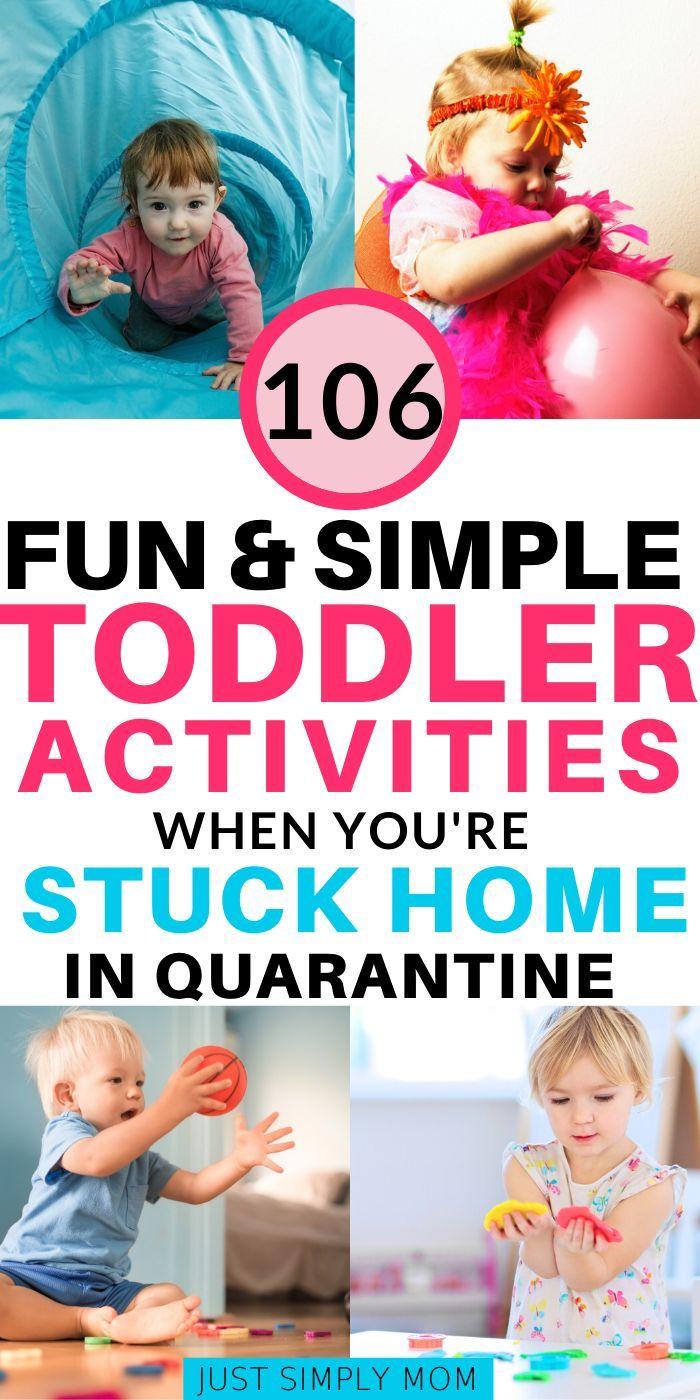 106 Fun Indoor Toddler Activities When Stuck Inside