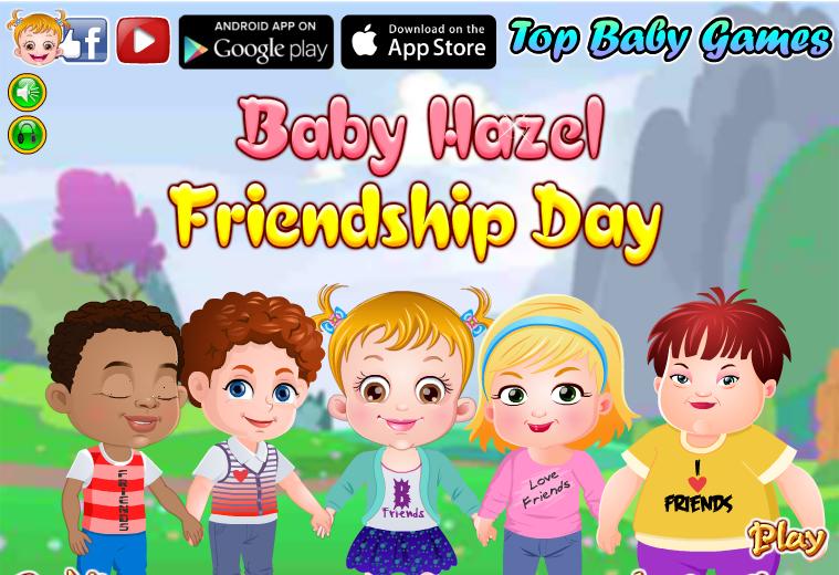 لعبة بيبي هازل يوم الاصدقاء العاب فلاش ميزو Baby hazel