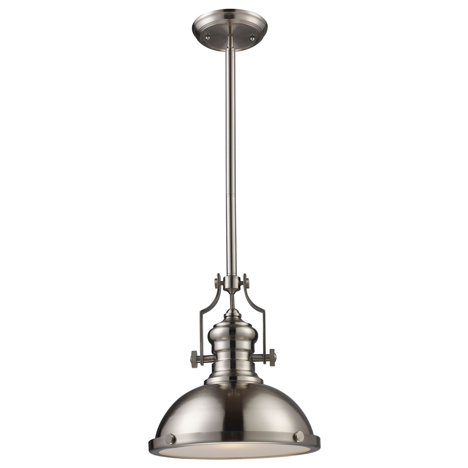 Chadwick Satin Nickel Medium Pendant ELK661241