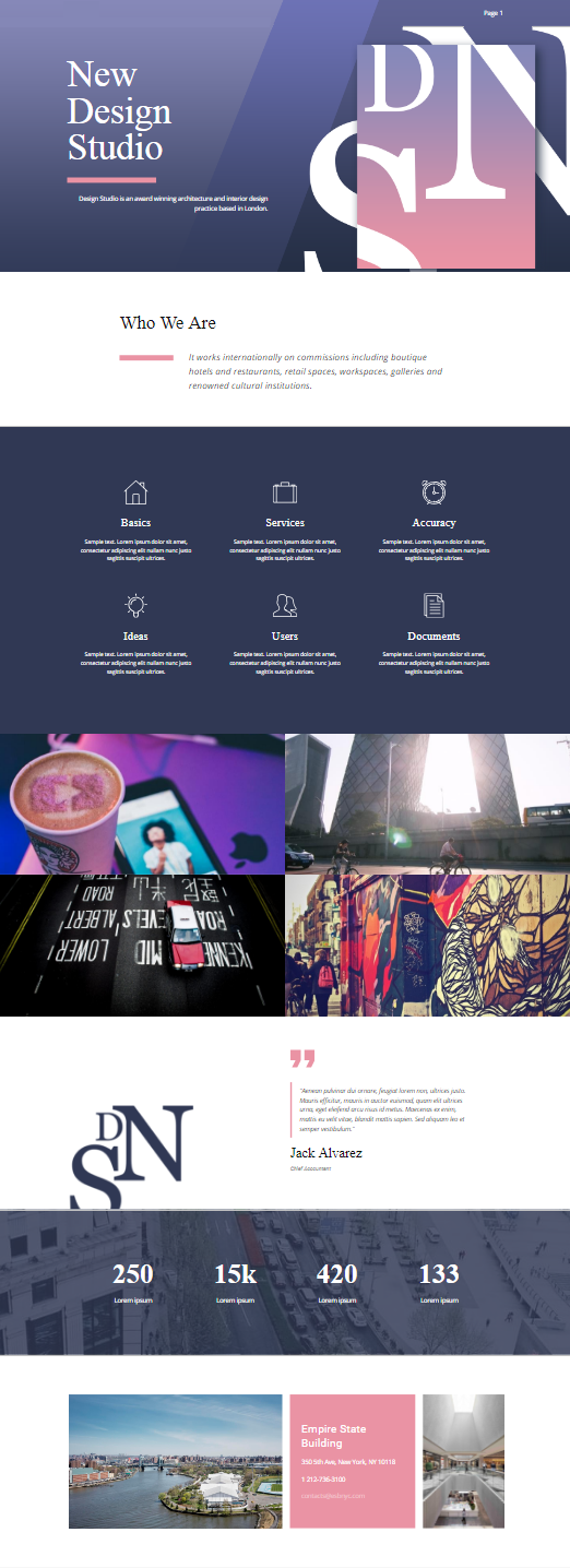 Artistic Template Click And Start Edit This Web Template Wordpress Theme And Joomla Template Nicepa Website Template Design Web Design Business Web Design