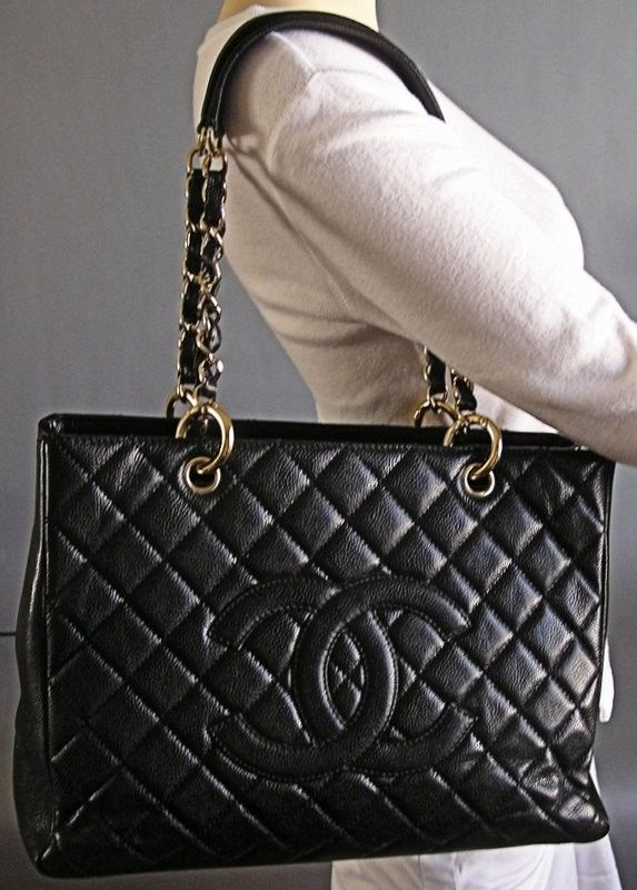 877566da7c38 big black chanel tote | Chanel GST Grand Shopping Tote Black Caviar - Chanel  & More