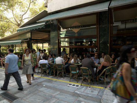 Kolonaki Square, Athens, Greece...Opa!