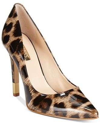 GUESS Babbitta Pointed-Toe Pumps - Pumps - Shoes - Macy's
