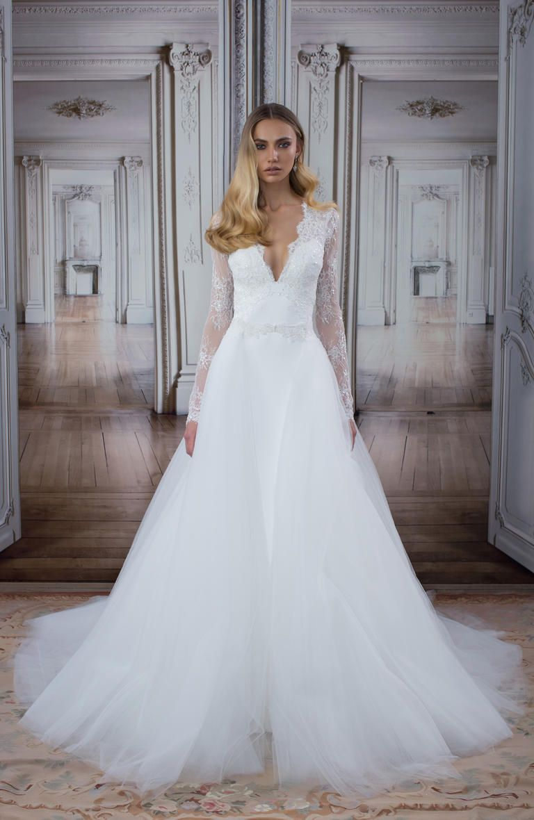 Pnina Tornai wedding dress from the LOVE collection at Kleinfeld in ...