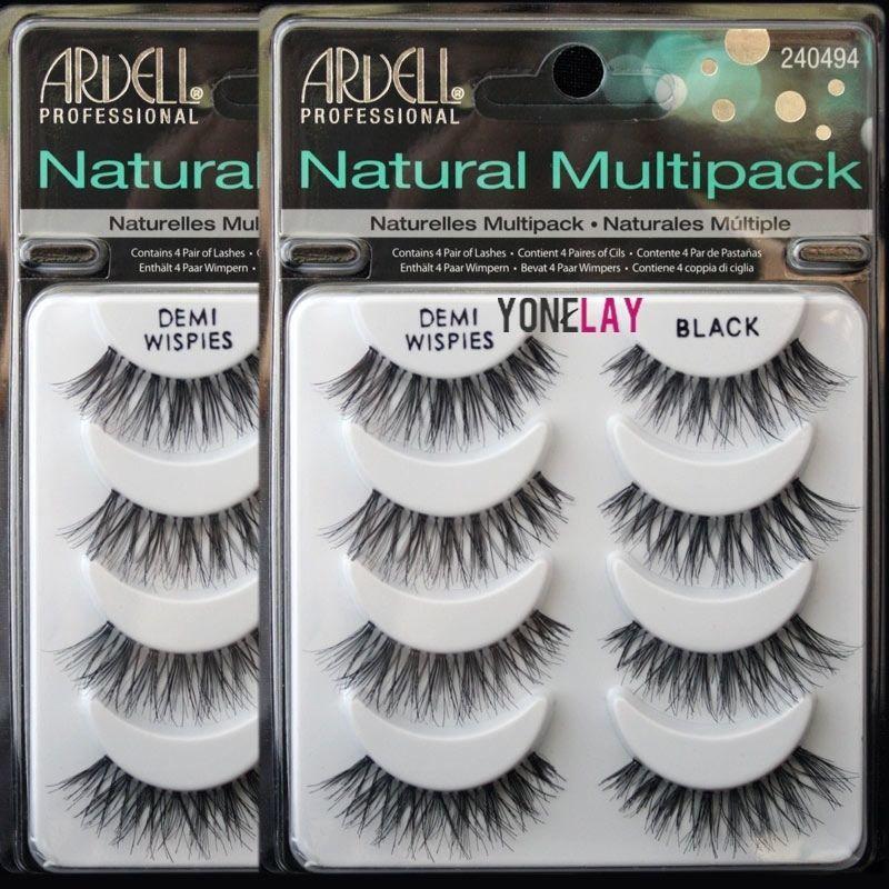 666c1b6f464 8 Pairs Ardell Demi Wispies Natural Multipack False Eyelashes Fake Eye  Lashes