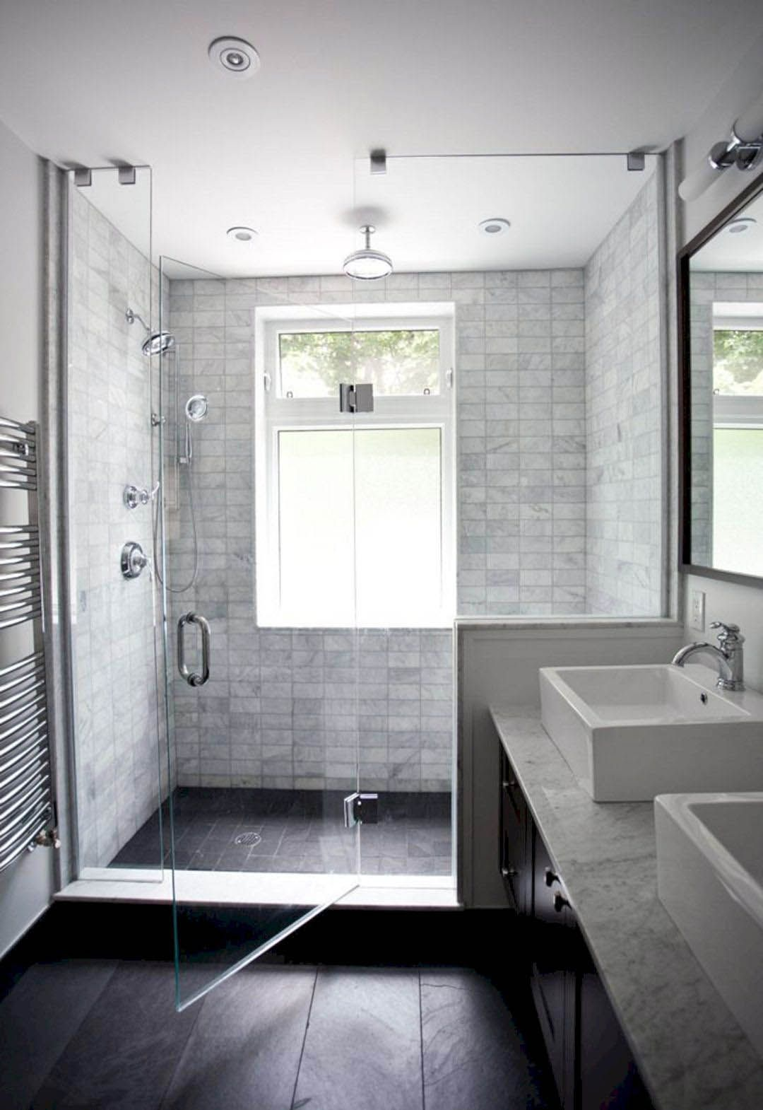 The Best And Easiest Bathroom Standing Shower Ideas Only On This Page Window In Shower Bathroom Remodel Master Small Bathroom Remodel