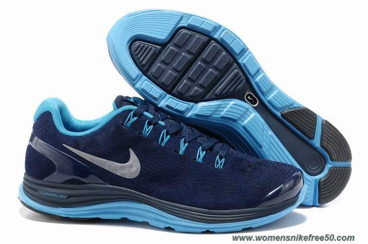 premium selection 35b2c 9e8fe Nike LunarGlide 4 Mens 524977-404 Suede Obsidian Blue Glow Silver Sale