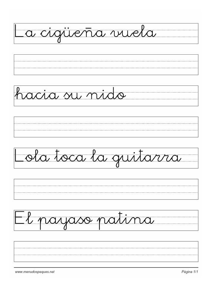 ejercicios de caligrafia para niños con disgrafia - Buscar con ...