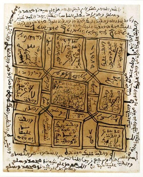 Amulet (hatumere)Limba peoplesSierra LeoneMid 20th centuryPaper, colored inks
