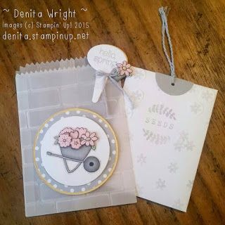 Denita Wright - Independent Stampin' Up! Demonstrator: Global Design Project #GDP001