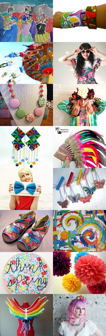 Bright and Fun by 3buu on Etsy--Pinned with TreasuryPin.com