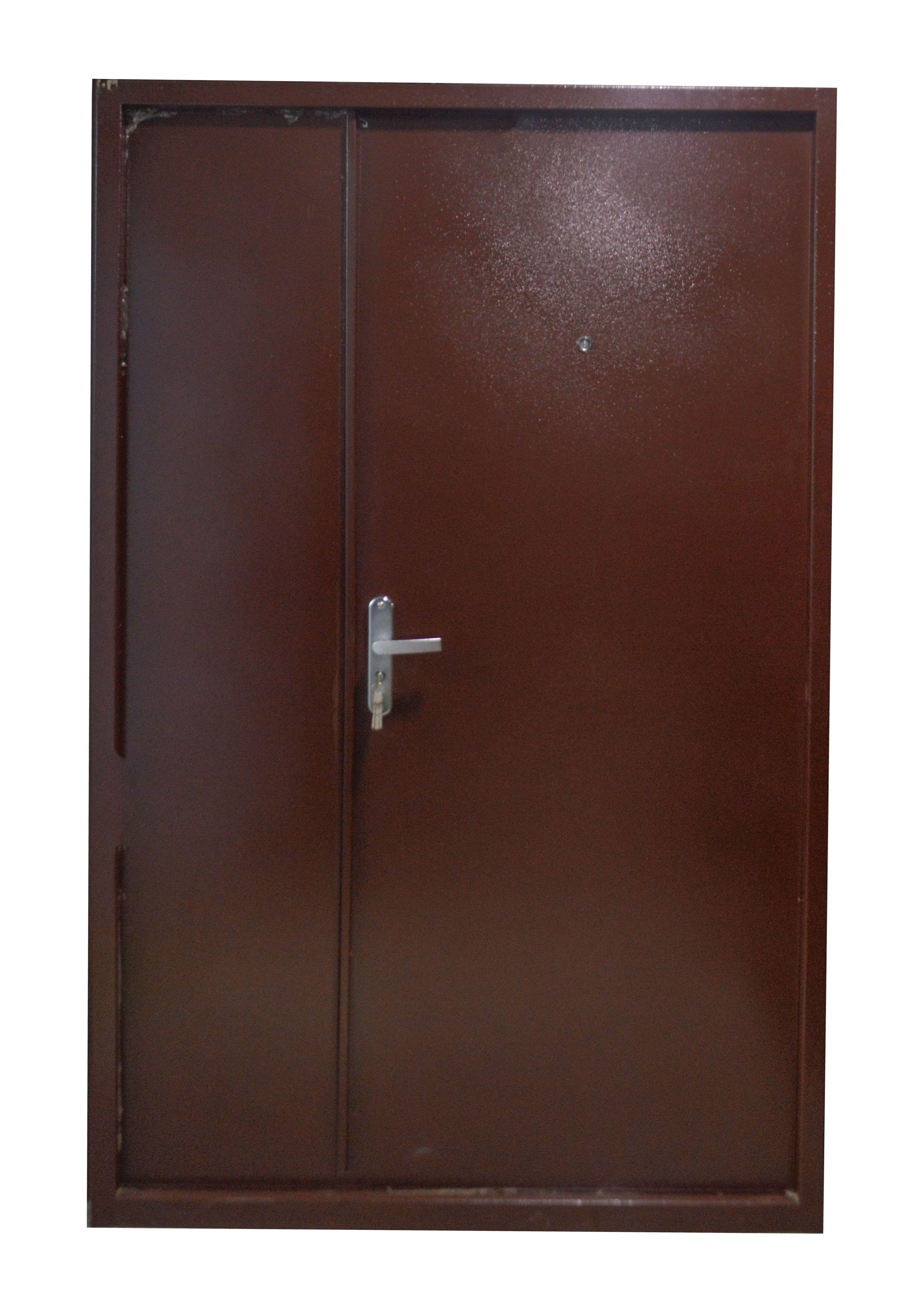 Gl Sd 001 Topaz Steel Door Plain Brown 1 2mmx80mm