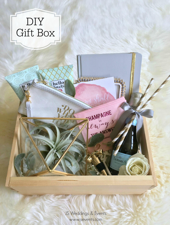 Diy gift box wedding gift boxes diy wedding gift box