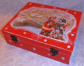 Krabičky - Adventná čajová krabička - 2061802