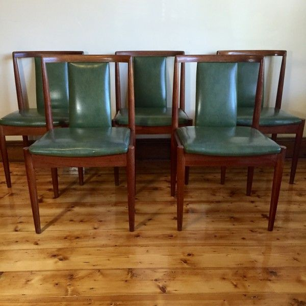 Genuine Vintage Parker Dining Chairs Set Of 5 550 Aud The Furniture Company Elished Itself In Australia 1950s With A Countrywide