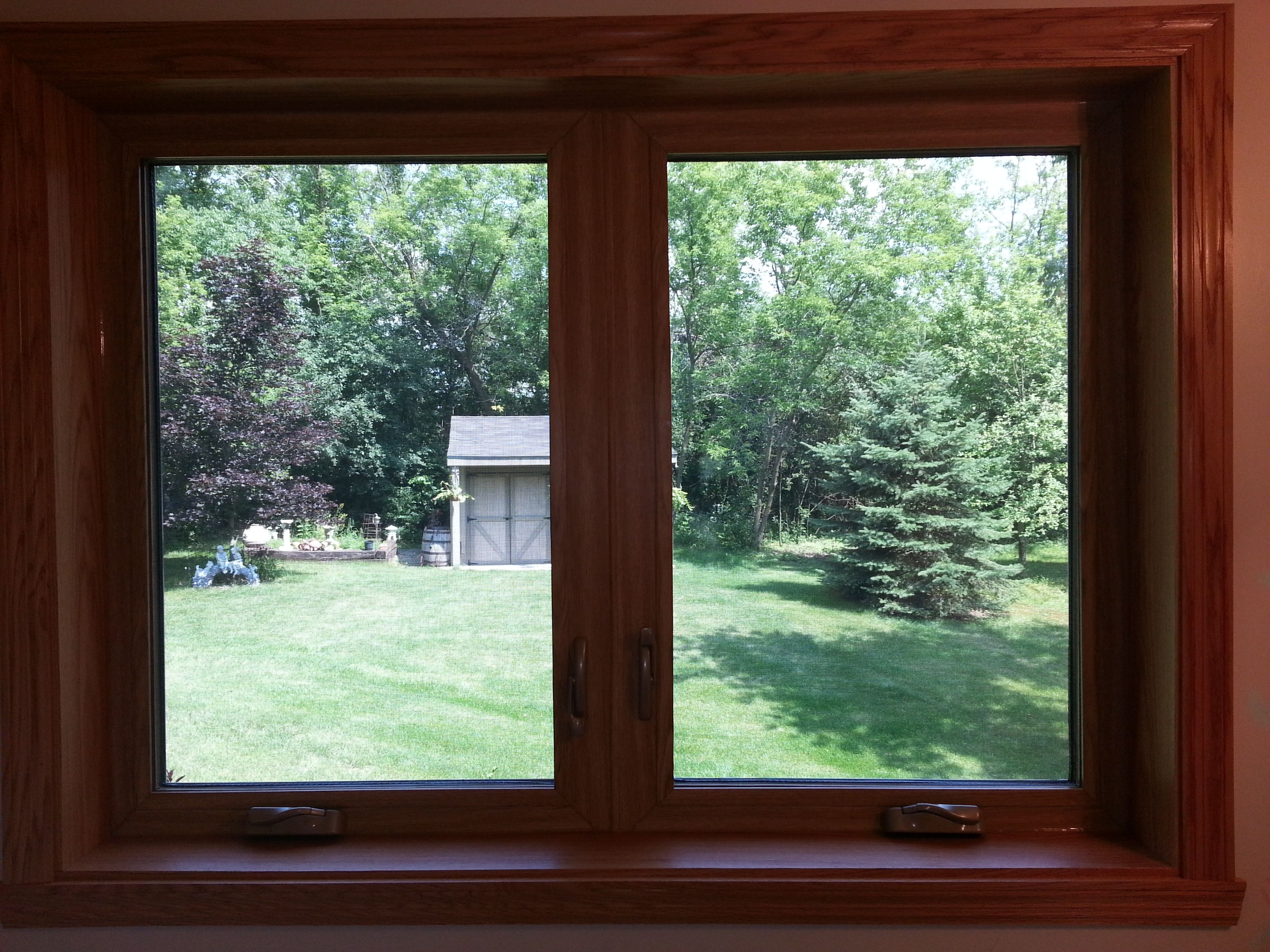 Wood Window Frames : Wood frame windows google search pinterest