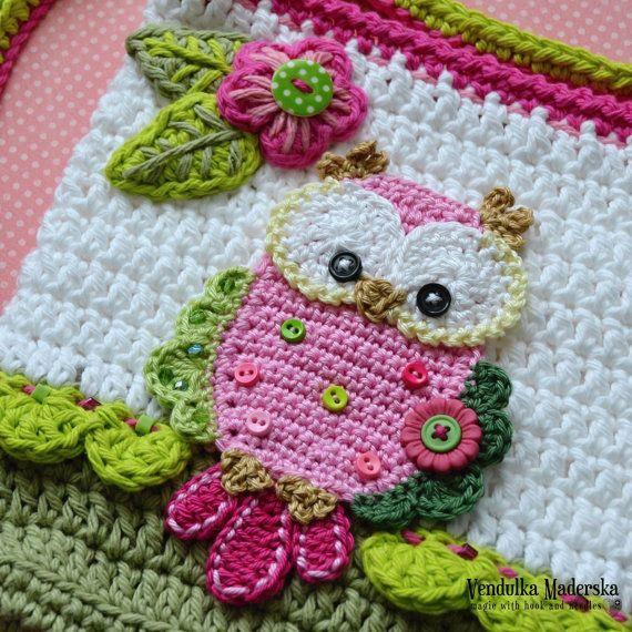 Crochet pattern Owl purse by VendulkaM crochet bag | Basteln ...