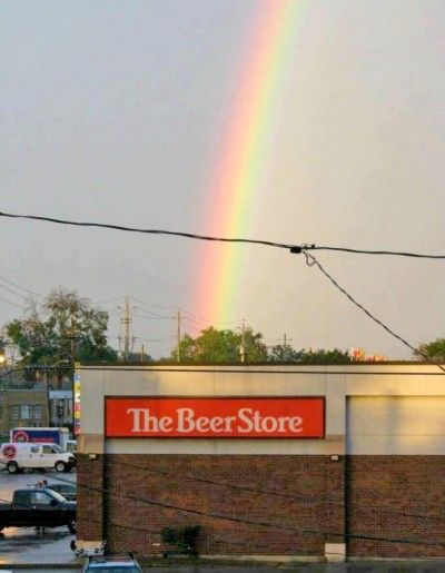 Whats At The End Of The Rainbow Beer Find More Funny Signs At