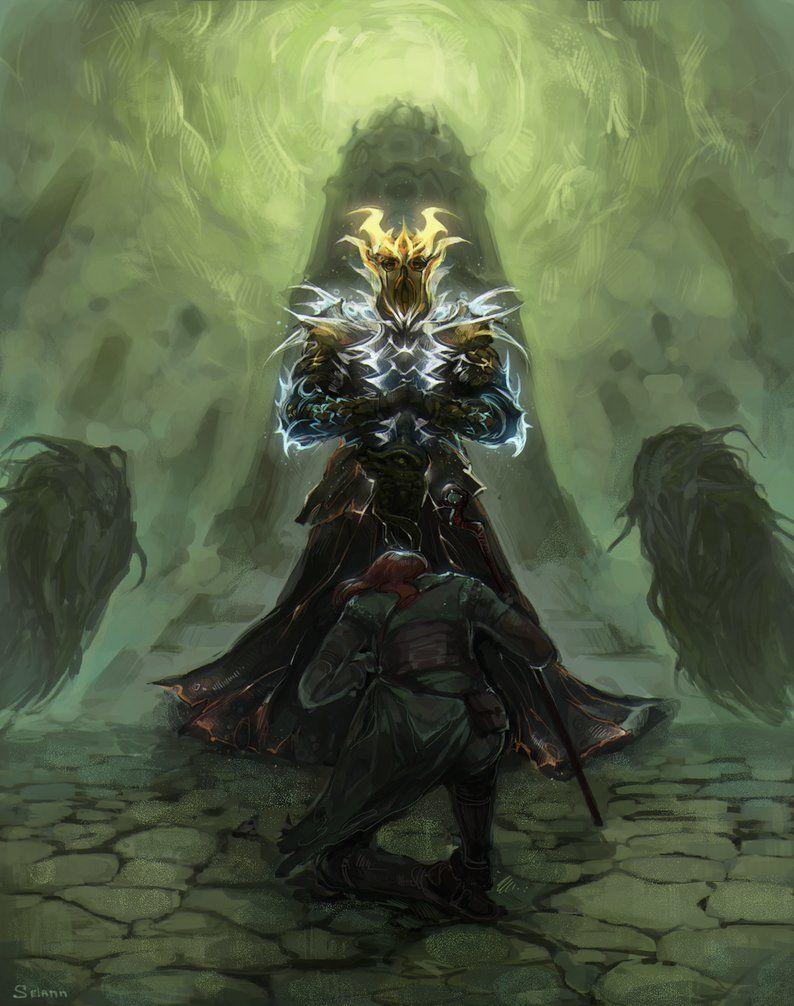 Miraak By Selann Elder Scrolls V Skyrim Elder Scrolls Skyrim