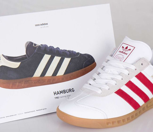 adidas Originals Hamburg 'White ...