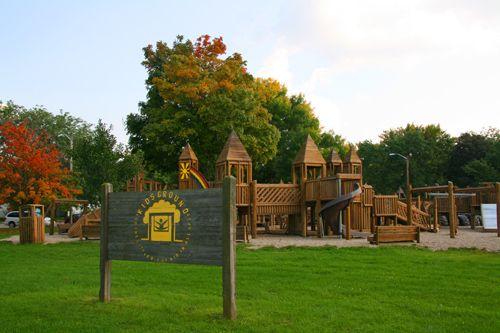 Cooper Park Park Parks And Recreation Rochelle
