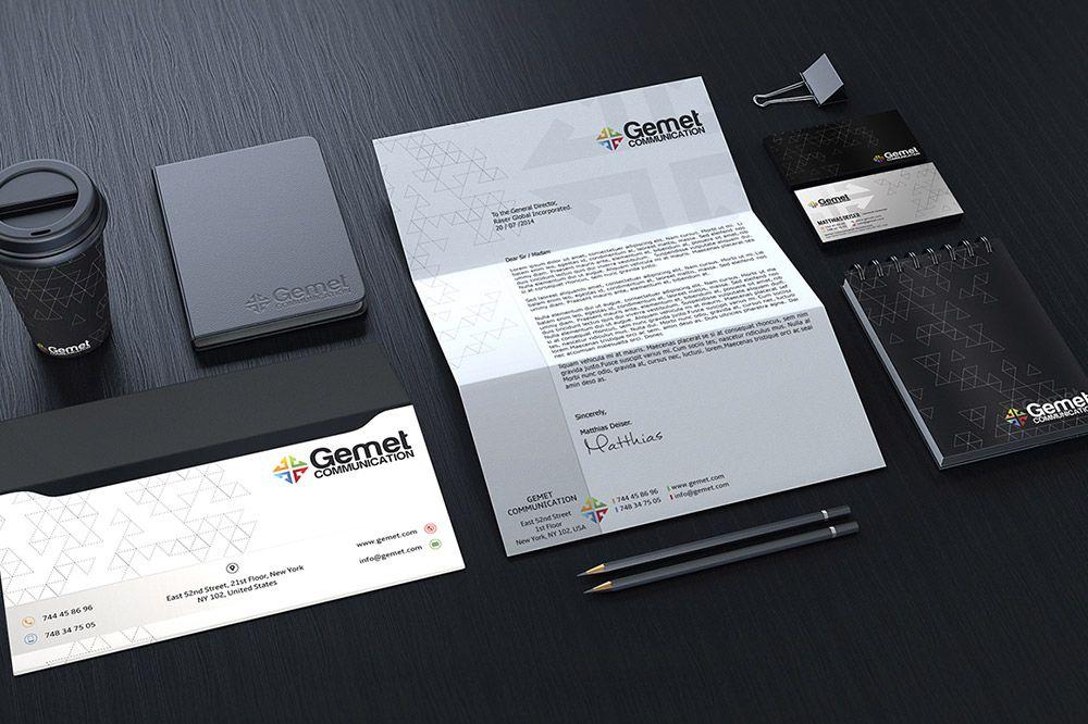 Free Corporate Branding Identity Mockup Branding Identity Mockup Web Design Resources Stationery Branding
