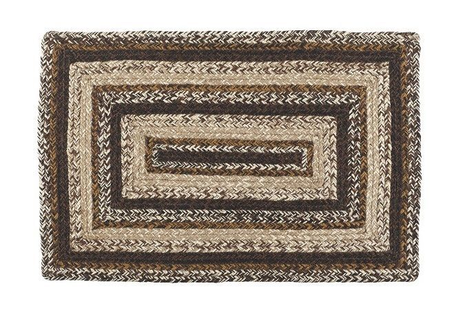Primitive Country Area Rugs Jute Braided Brown Cream White Oval Square Rug Primitivecountryarearugs Area Rugs Country Area Rugs Primitive Curtains