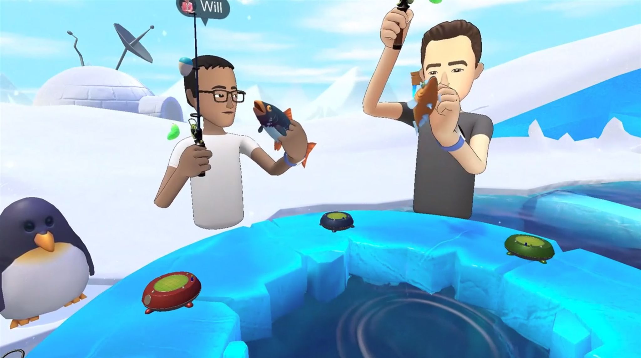 Facebook Doubles Down on Social VR with Spaces—Now in Beta
