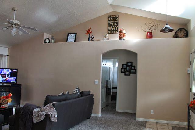 Decorating A Ledge Living Room Ledge Decor Shelf Decorating Living Room Shelf Decor