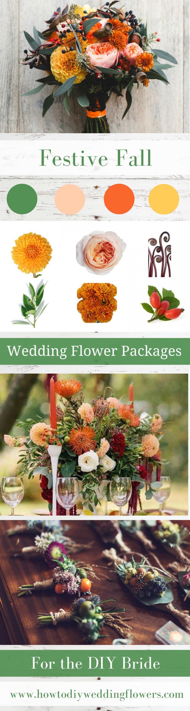 Wedding trends Fall Flower Packages trend Buy DIY Wedding Flowers