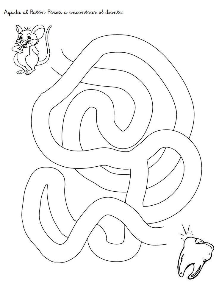 ratoncito perez para colorear - Google Search: | RATONCITO PÉREZ ...