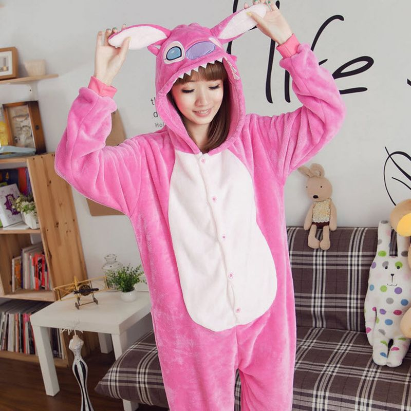 9a2aee75c Special Offer Women s Character Stitch Onesie Full Sleeve Hooded ...
