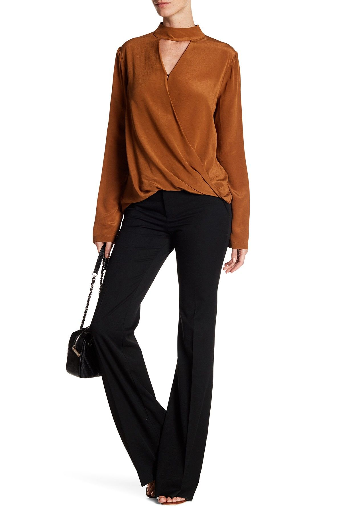 7b781ebcaa65 Emerson Thorpe Nalo Tailored Flare Trouser | Flat belly challenge ...