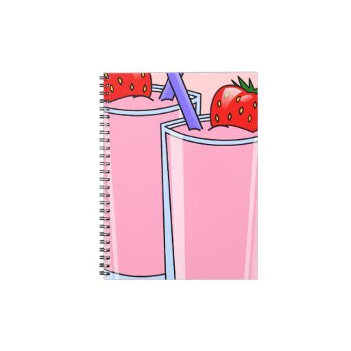 Strawberry Delight Note Book   $13.10