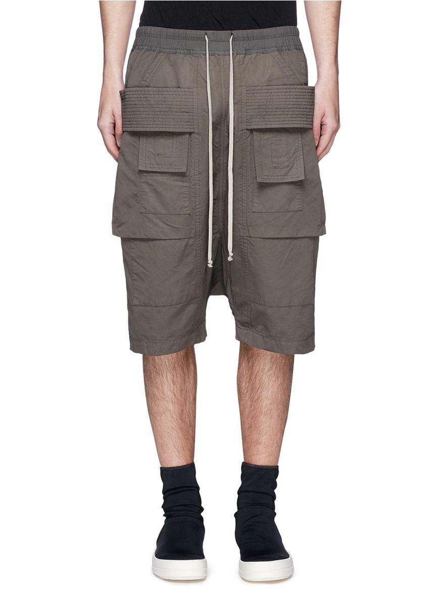 60a9abf47c7 RICK OWENS DRKSHDW Drop Crotch Cargo Pod Shorts.  rickowensdrkshdw  cloth   shorts