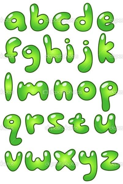 paso 3 para dibujar letras en forma de burbuja | aprender a dibujar ...