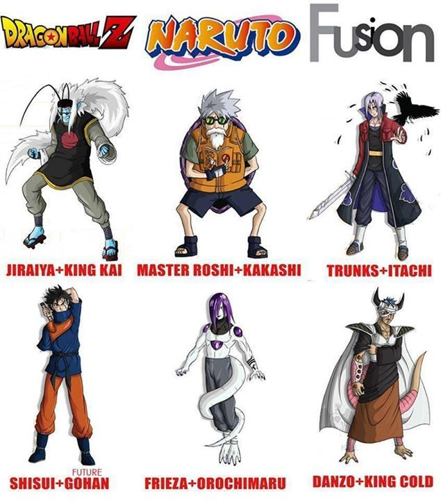 Best Fusions Ever Naruto Comic Book Cover Really Funny Memes