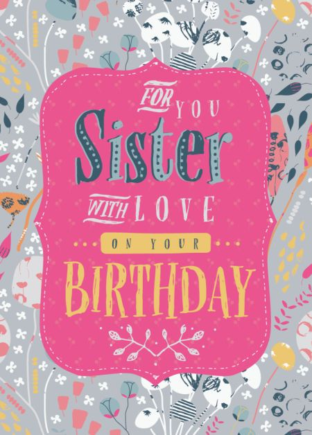 Rebecca Prinn - RP Sister Birthday Flowers Panel