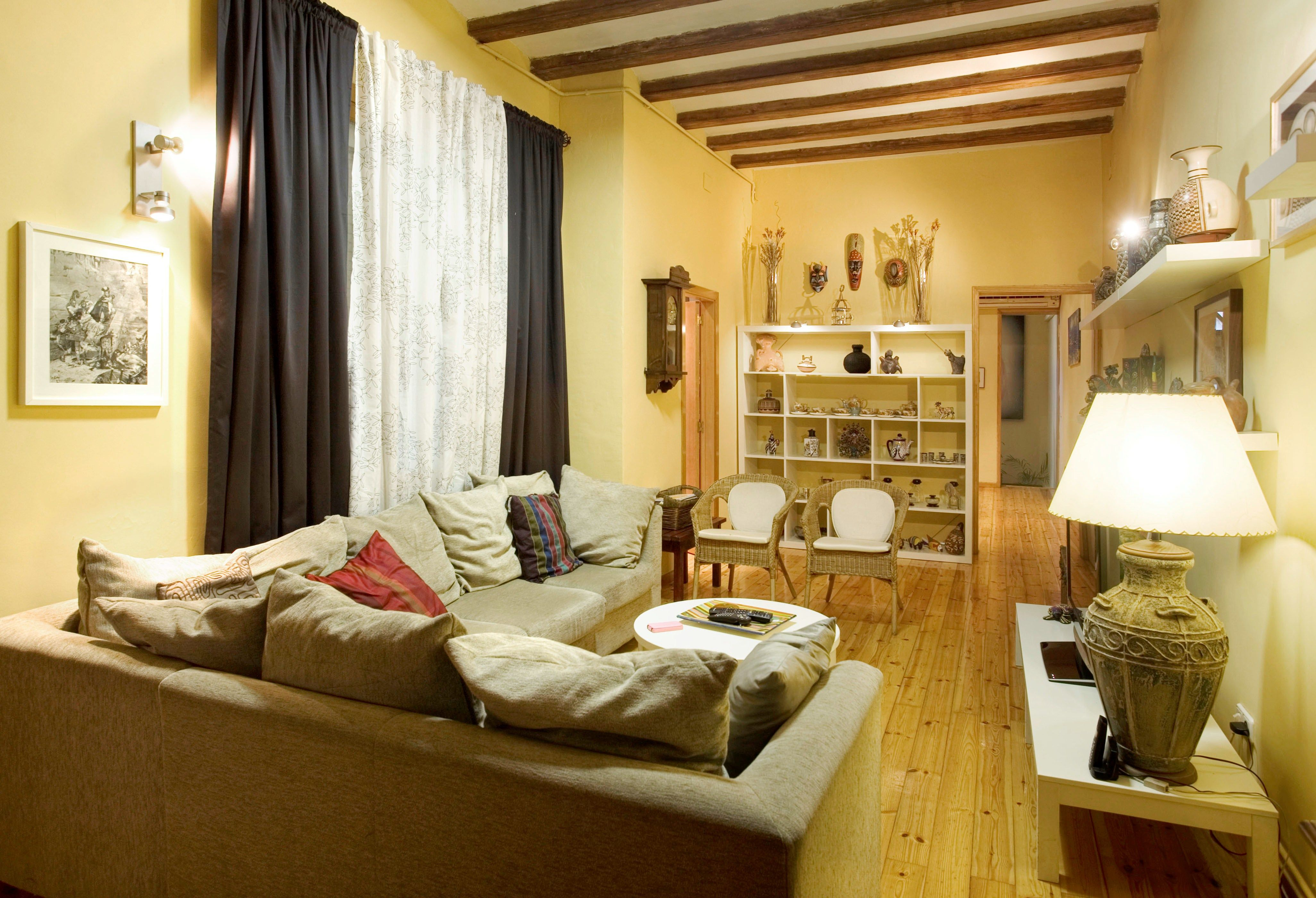 Furniture,Adorable L Shaped Living Room Sectional With Cozy Cream ...