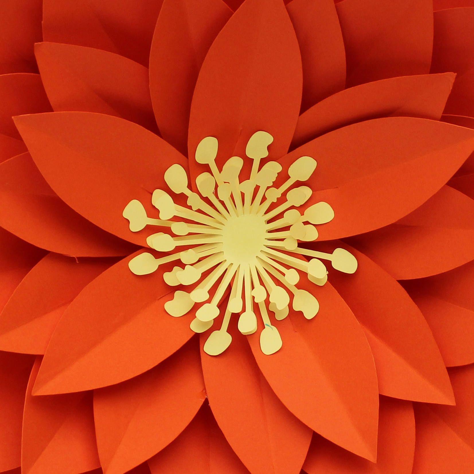 Paper Heart Flower Craft Pdf