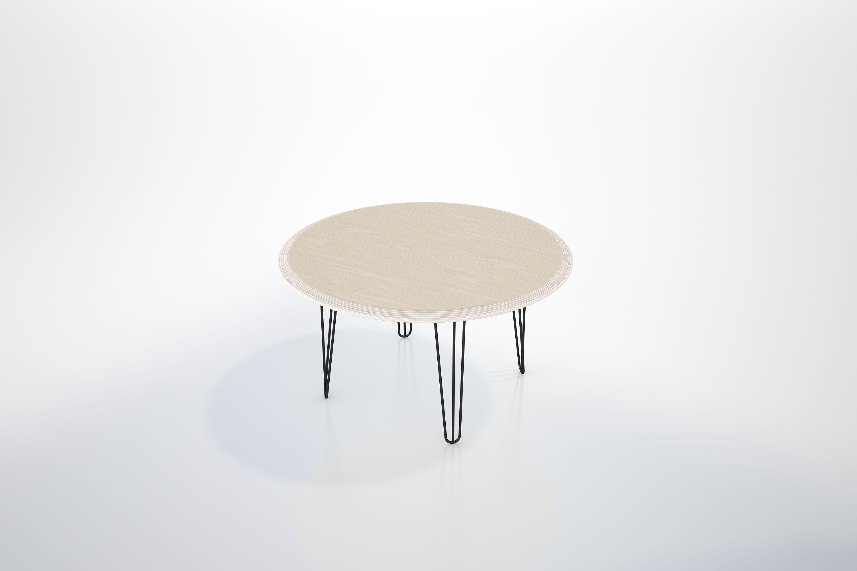 The Soho Round Coffee Table Wood Coffee Table Custom Furniture [ 2000 x 3000 Pixel ]