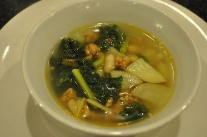 ... Sausage, Kale, and White Bean Soup | Recipe | Kale, Beans and Happy